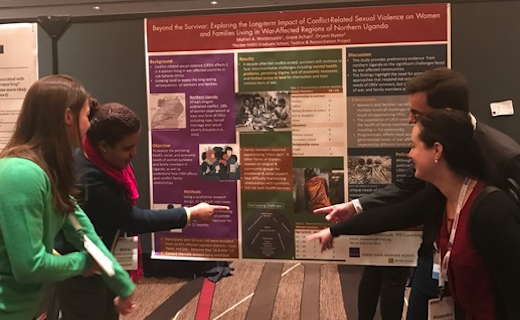 Students at APPAM 2017 in Chicago