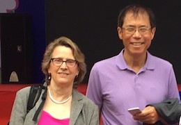 Susan Marquis and Hui Wang