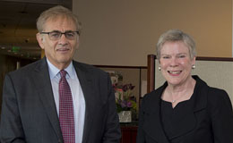 Rose Gottemoeller and Michael Rich