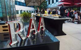 RAA sign pictured at the 2015 Summer Reunion