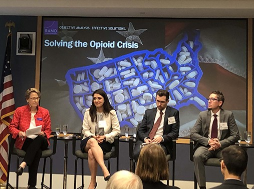 RAND researchers discuss the opioid crisis at RAND Alumni Association event