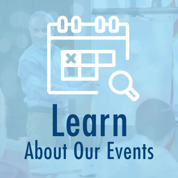 Learn about our events