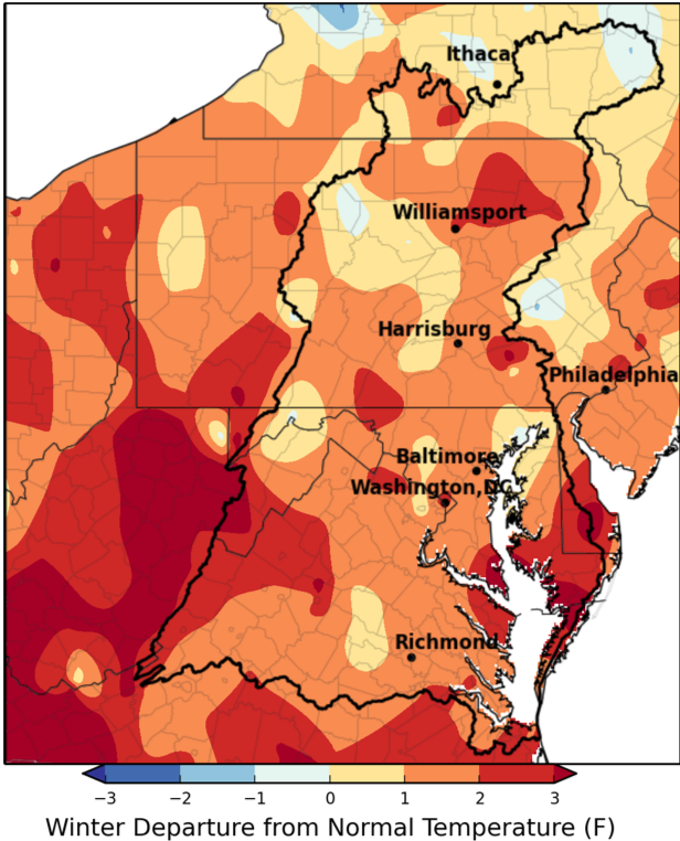 Chesapeake Bay Climate Impacts Summary and Outlook, March 2019 | MARISA