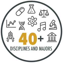 Students at Pardee RAND come from more than 40 disciplines and majors.