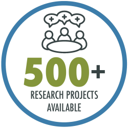 At any given time, RAND has 500+ new and ongoing research projects on which students can work side-by-side with policy experts.
