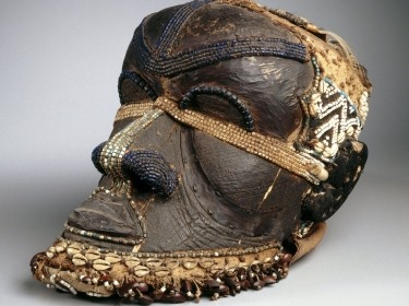 Kuba Bwoom mask, from the collection of the Brooklyn Museum