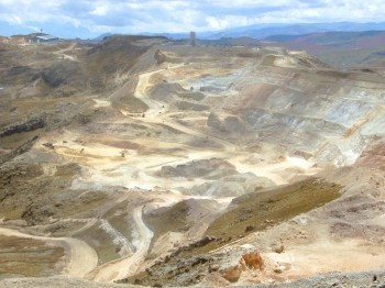Yanacocha gold mine near Cajamarca, Peru