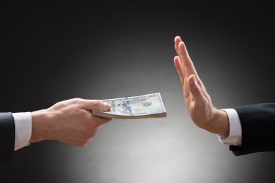 money, hand, bribery, businessman, offer, deposit, holding, rejection, reject, lend, give, clerk, cash, pay, not, saving, proposal, stop, payment, people, giving, finance, bribe, background, investment, palm, failure, two, businesspeople, closeup, gesture, object, studio, deny, bundle, uncorrupted, banknote, gesturing, copyspace, formalwear, try, symbol, refusing, close-up, denial, fault, hundred