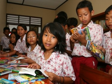 Indonesian schoolchildren