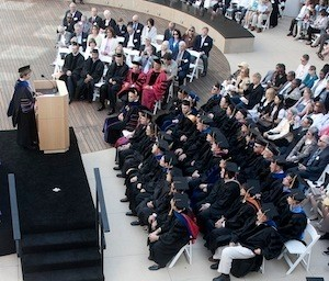 Dean Marquis gives commencement address