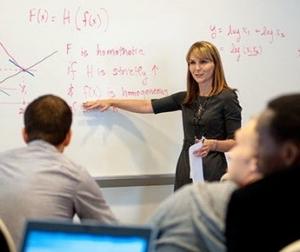 Jeanne Ringel teaching