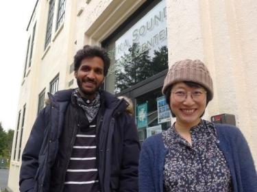 Jalal Awan and Keren Zhu in Sitka