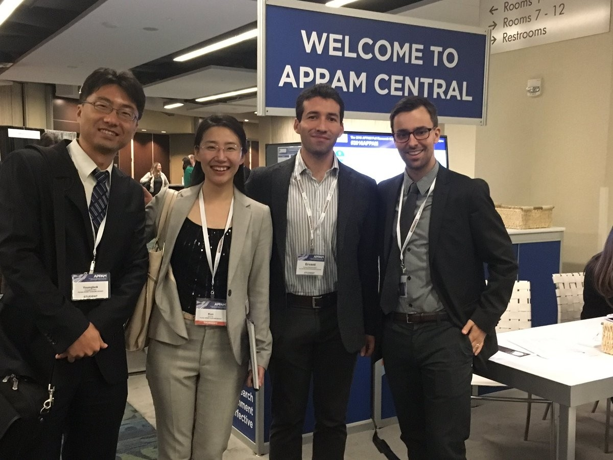 Pardee RAND students at APPAM '16