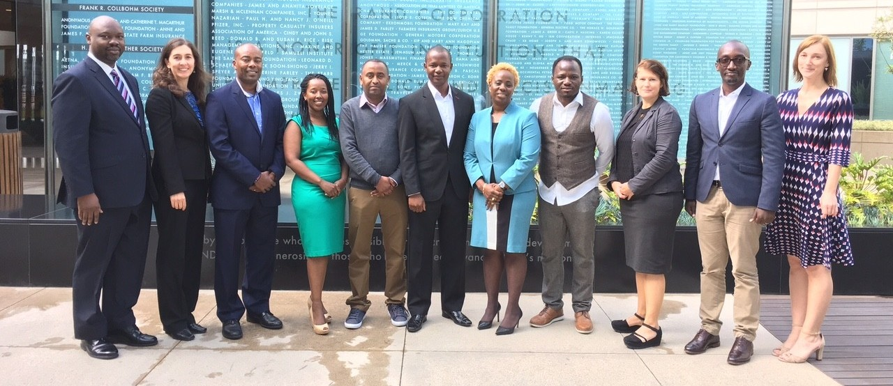 2016 Eisenhower Fellows African Program participants at Pardee RAND Graduate School