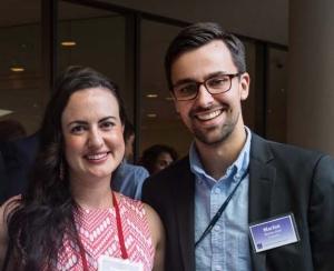 Alexandra Mendoza-Graf and Marlon Graf at Commencement 2016, photo by Diane Baldwin/RAND Corporation
