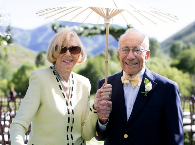 Theresa and Charles Wolf, photo by Diane Baldwin/RAND Corporation