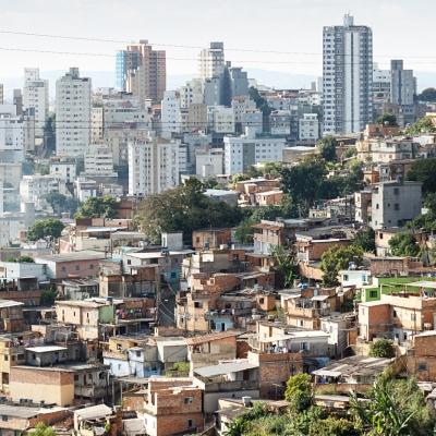 View of Morro do Papagaio at Belo Horizonte, Minas Gerais, Brazil