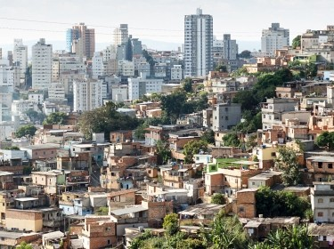 View of Morro do Papagaio at Belo Horizonte, Minas Gerais, Brazil