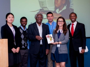 Calestous Juma and the IDSS Team