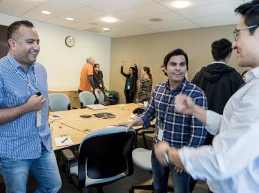 An AI Study Circle event, April 9, 2018, photo by Diane Baldwin/RAND Corporation