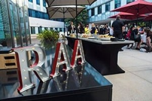 RAA sign displayed at the RAA Summer Reunion