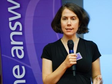 Chrissy Eibner at RAA talk in DC