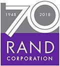 RAND 70th anniversary logo