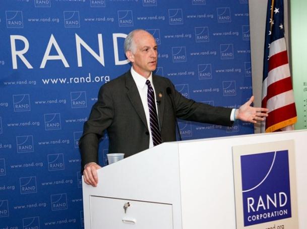 Congressman Adam Smith speaking at RAND, March 29, 2012