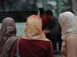 Three Islamic women
