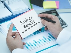 Employee benefits paperwork