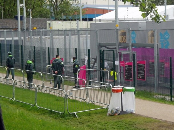G4S security at the London Olypmics 2012