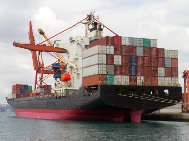 Container/cargo ship