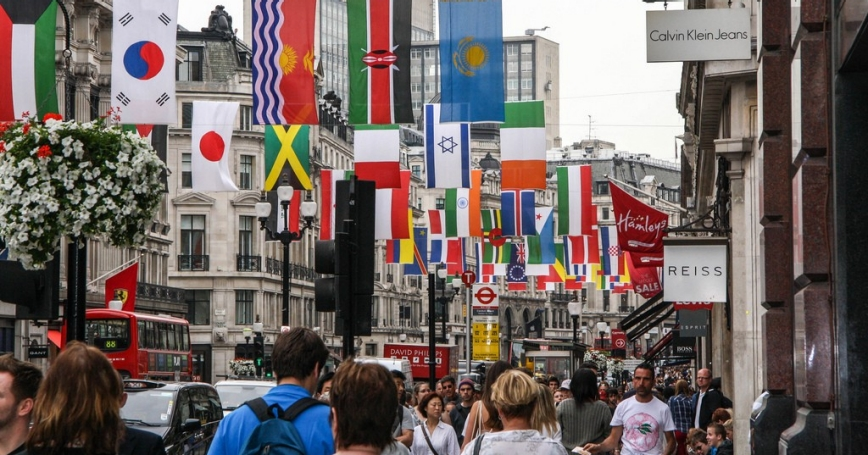 Regent Street London Olympics 2012