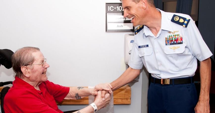 VA hospital visit