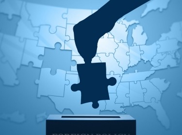 U.S. map puzzle and political issues