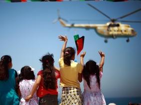 Libyans in Zawiya celebrating one-year anniversary of anti-Qadhafi uprising
