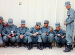 Police training in northern Afghanistan