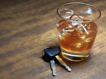 liquor and keys