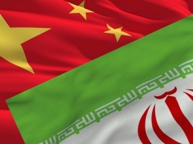 flags of China and Iran