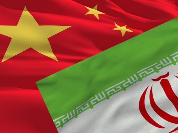 flags of China and Iran