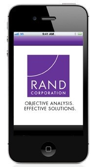 iPhone with RAND app