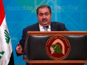 Iraq's Foreign Minister Hoshiyar Zebari says he has intelligence that members of al Qaeda are crossing from Iraq into Syria to carry out attacks, July 5, 2012