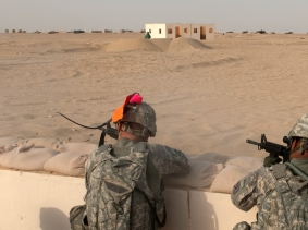 South Carolina Guard Soldiers keep sharp during Kuwait deployment