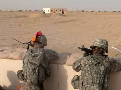 South Carolina Guard Soldiers keep sharp during Kuwait deployment