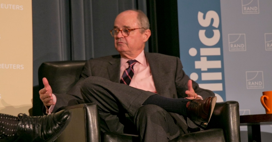 Ambassador James Dobbins at RAND's Politics Aside event