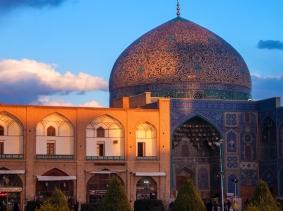 Sheikh Lotfollah Mosque at Imam Square in Isfahan, Iran