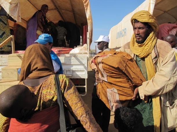 Malian refugees