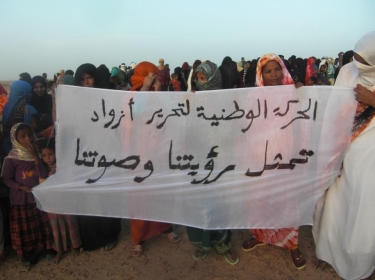 Timbuktu residents rally against control by Islamist group Ansar al-Din