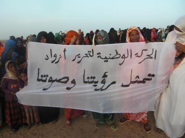 Timbuktu residents rally against control by Islamist group Ansar al-Din