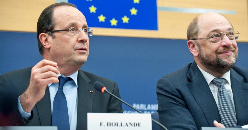 French president François Hollande talked about the intervention in Mali during the discussion with MEPs on Feb. 5